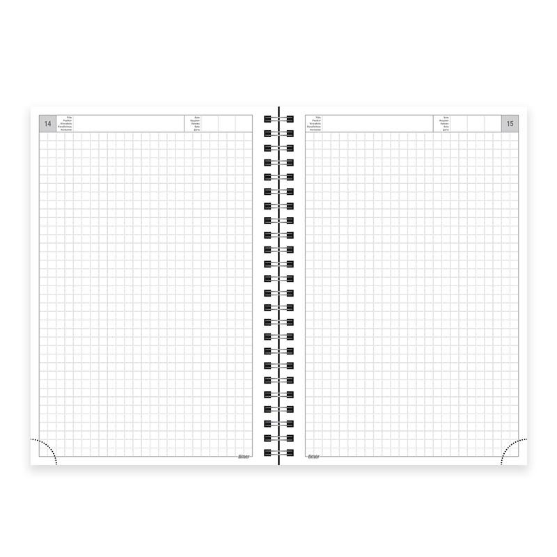Ajaplaneerija Notebook Timer Spirex A5 sisu, ruuduline