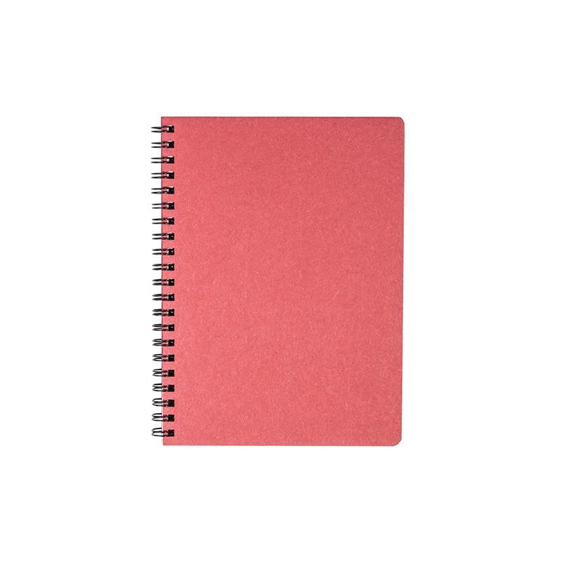 Spiraalköitega kaustik Timer Kartong, 224 lehte, punane, ruuduline