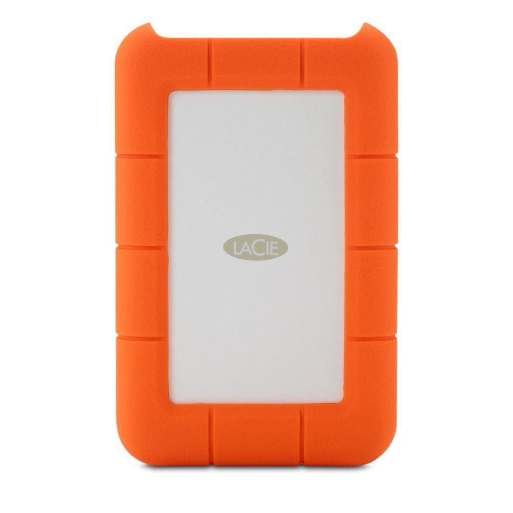 External HDD LACIE 4TB USB-C Colour Orange STFR4000800