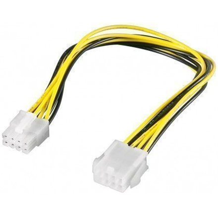 Goobay 51361  EPS PC power extension cable; 8-pin