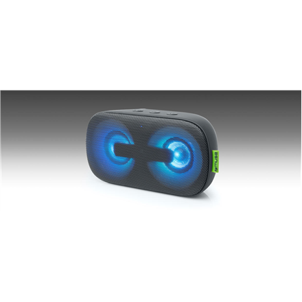 Muse Enceinte Speaker M-370DJ 2X3W W, Portable, Black, Bluetooth