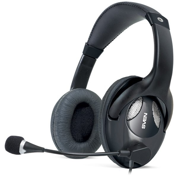 Headphones with microphone SVEN AP-670MV black, SV-0410670MV