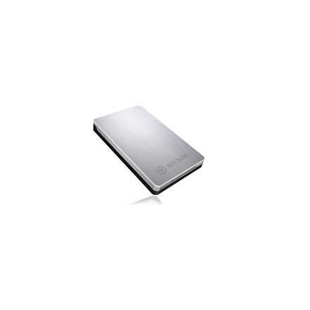 """Icy Box-234U3a Elegant and very stable USB 3.0 enclosure for 2.5"""" SATA HDD and SSD"""