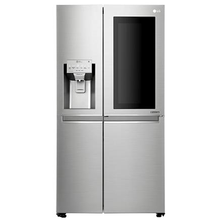 LG Refrigerator GSX961NSAZ Free standing, Side by Side, Height 179 cm, A++, No Frost system, Fridge net capacity 405 L, Freezer net capacity 196 L, Display, 39 dB, Inox