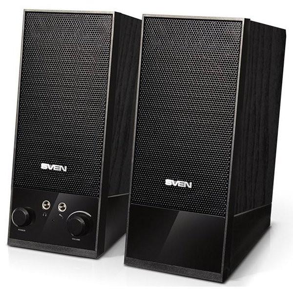 Speakers SVEN SPS 604, black, SV-0120604BK
