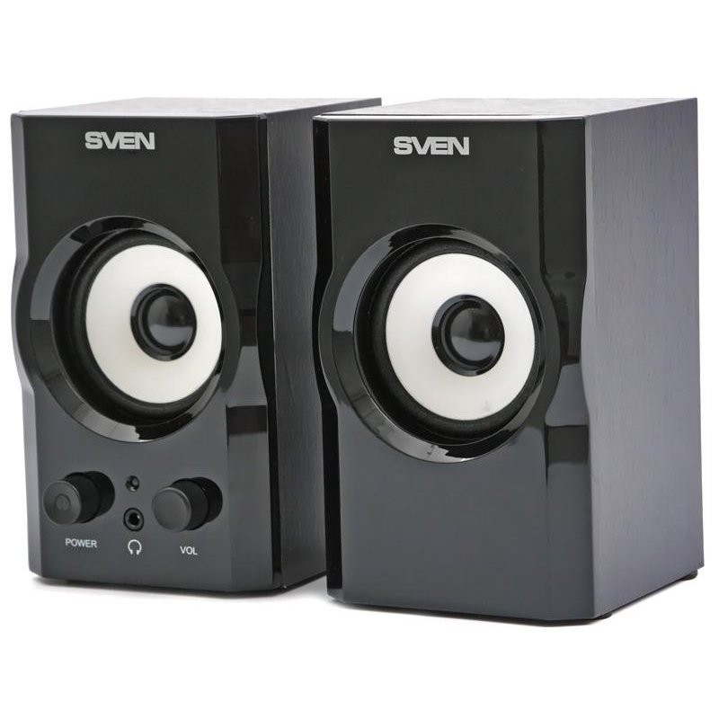 Speakers SVEN SPS 605, black, SV-0120605BL