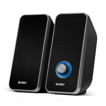 Speakers SVEN 325, black (USB), SV-014643