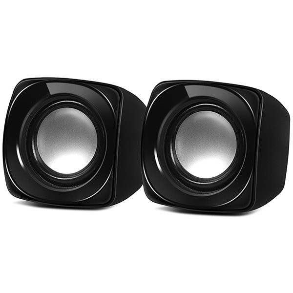 Speakers SVEN 120, 2.0, black (USB), 5W RMS, SV-013493