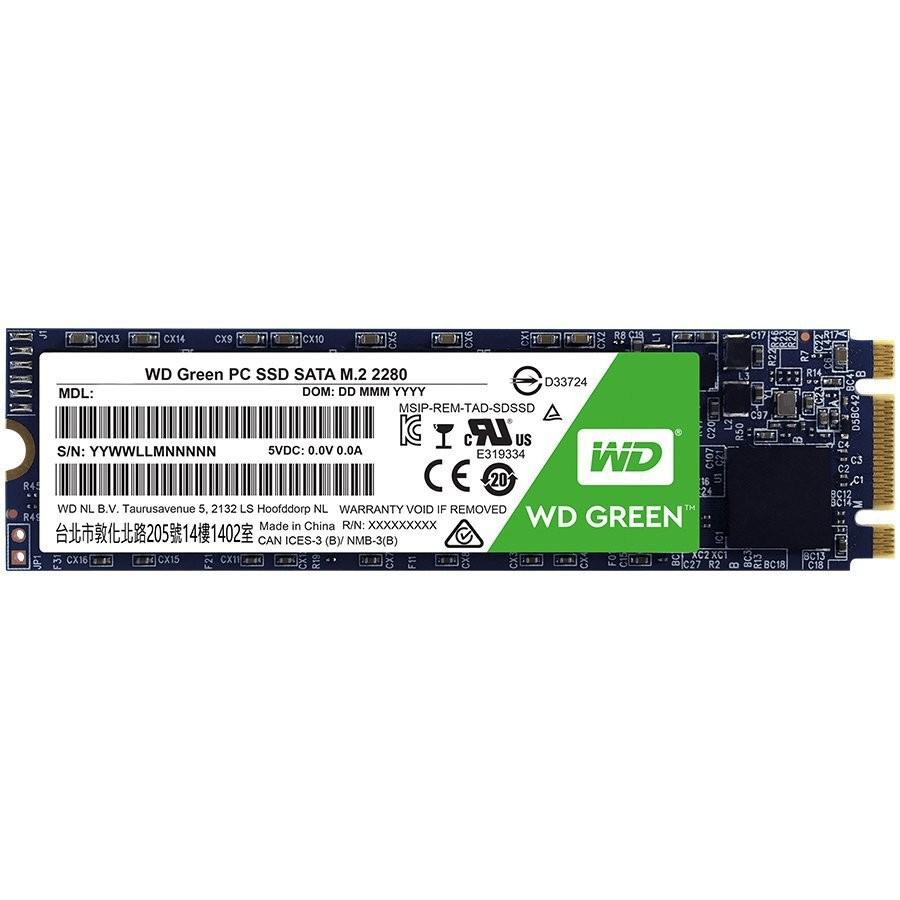 SSD WD Green (M.2, 240GB, SATA III 6 Gb/s)