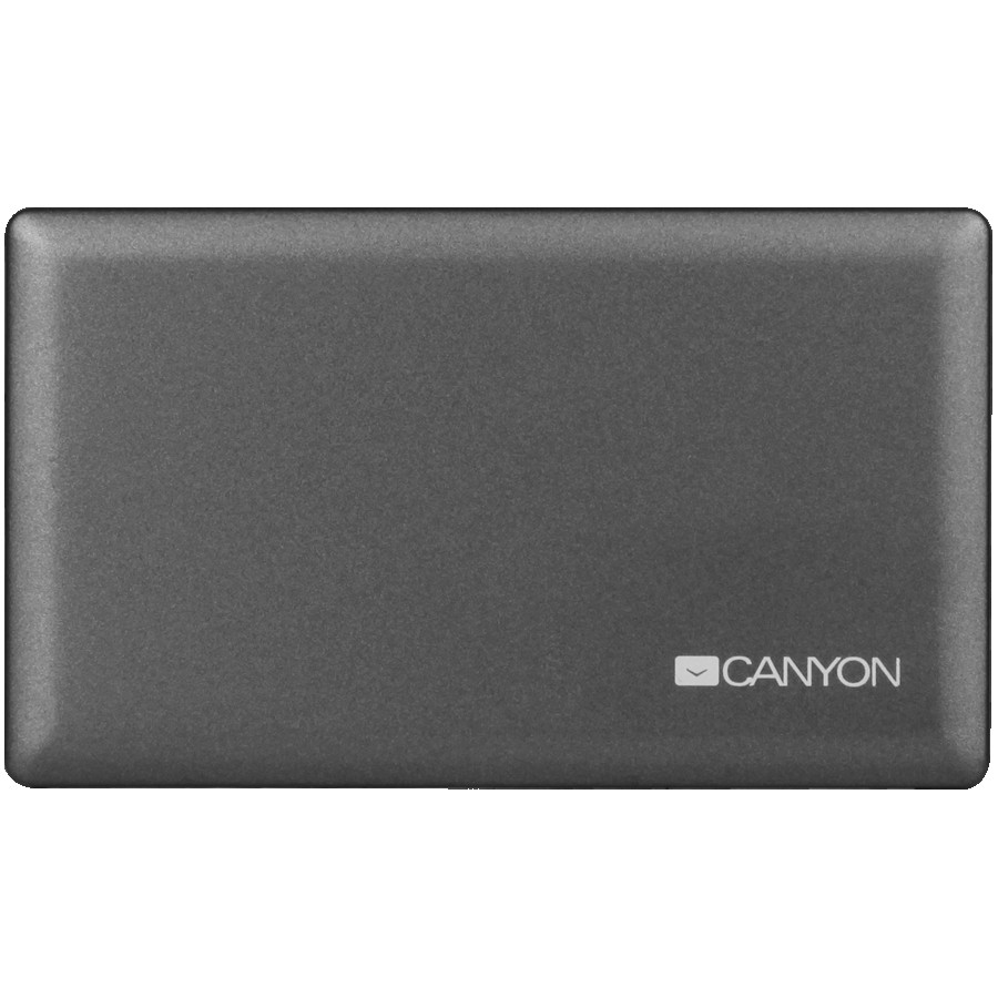 CANYON CRD-2 CardReader All in one CNE-CARD2 (CF/micro SD/SD/SDHC/SDXC/MS/Xd/M2) USB 2.0, Gray, cable length 0.03m, 88*8*53mm, 0.035kg
