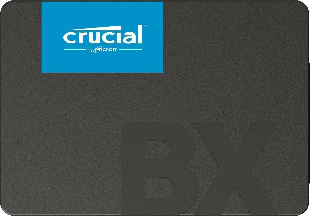 SSD|CRUCIAL|BX500|120GB|SATA 3.0|Write speed 500 MBytes/sec|Read speed 540 MBytes/sec|2,5"