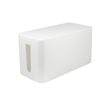 Logilink KAB0061 Cable Box White, small size: 235 x 115 x 120mm