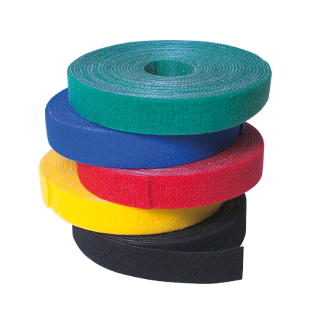Logilink KAB0050 Wire Strap, Velcro Tape 4000 x 16mm, black