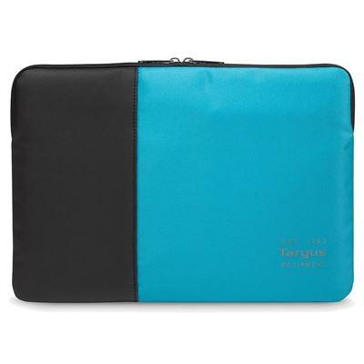 """Targus TSS94802EU sülearvutikott 35,6 cm (14"""") Varrukaümbris Must, Sinine"""
