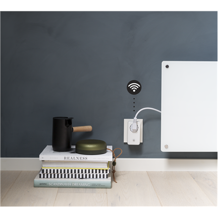 Mill WIFI Socket with integrated thermostat for heaters