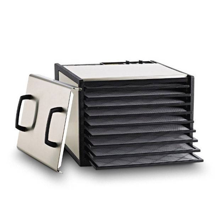 Excalibur Food dehydrator D902SF Stainless steel, 600 W, Number of trays 9, Temperature control, Integrated timer