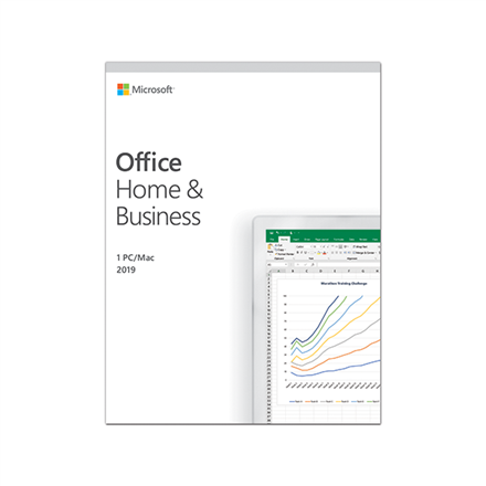 Microsoft T5D-03228 Office Home and Business 2019 Full packaged product (FPP), Estonian, Medialess box