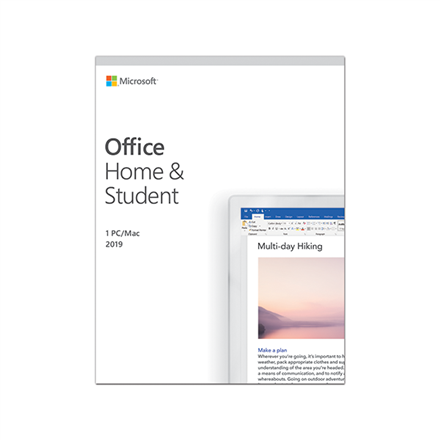 Microsoft 79G-05018 Office Home and Student 2019 ESD, Multilingual