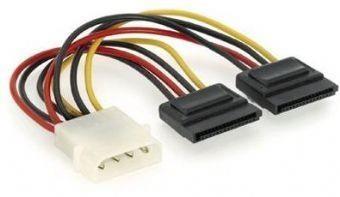 CABLE POWER SATA X2 15CM/CC-SATA-PSY GEMBIRD