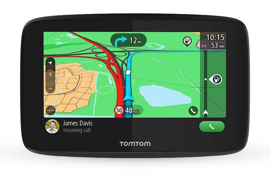 """TomTom GO Essential 6"""" navigaator 15,2 cm (6"""") Puutetundlik ekraan Käeshoitav/kinnitatud Must 262 g"""