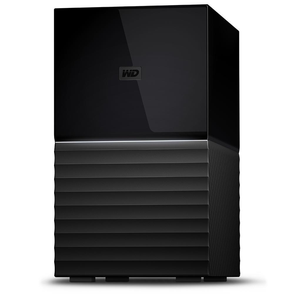 External HDD|WESTERN DIGITAL|My Book Duo|16TB|USB 3.0|USB-C|Black|WDBFBE0160JBK-EESN