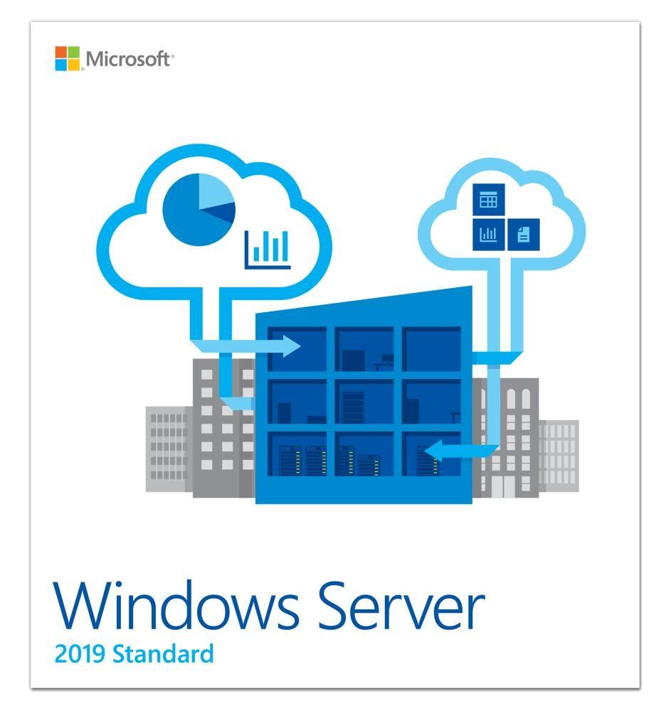 Microsoft Windows Server 2019 Standard 1 litsents(i)