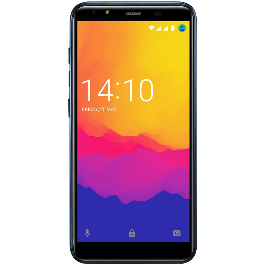 "Prestigio,MUZE F5 LTE,PSP5553DUO,Dual SIM,5.5"", HD(1440*720),IPS, 2.5D,Android 8.1 Oreo,Quad-Core 1.3GHz, 2GB RAM+16Gb eMMC, 5.0MP front+13.0MP AF rear camera with flash light, 4000 mAh battery, Blue"