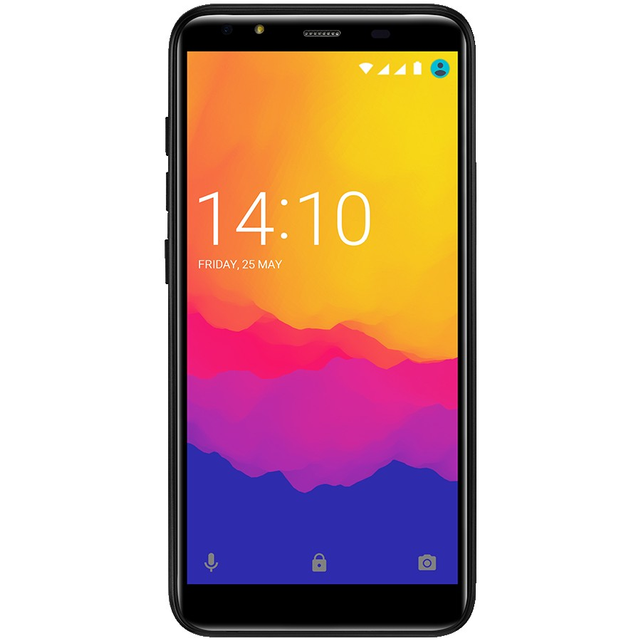 "Prestigio,MUZE F5 LTE,PSP5553DUO,Dual SIM,5.5"", HD(1440*720),IPS, 2.5D,Android 8.1 Oreo,Quad-Core 1.3GHz, 2GB RAM+16Gb eMMC, 5.0MP front+13.0MP AF rear camera with flash light, 4000 mAh battery, Black"