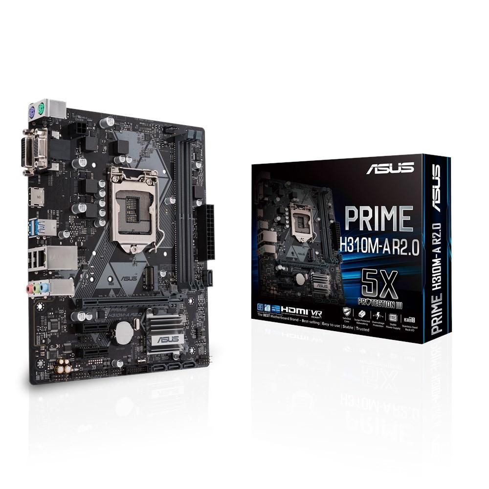 ASUS PRIME H310M-A R2.0 Intel® H310 LGA 1151 (pesa H4) Mikro ATX