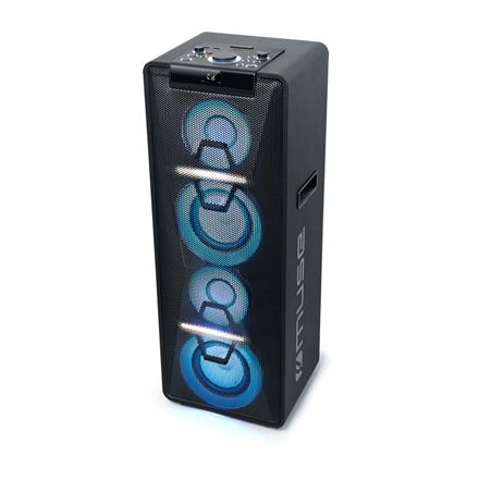 Muse Speaker M-1950DJ 500 W, Portable, Black, NFC, Bluetooth