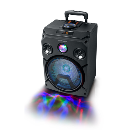 Muse Speaker M-1915DJ 150 W, Portable, Black, Bluetooth