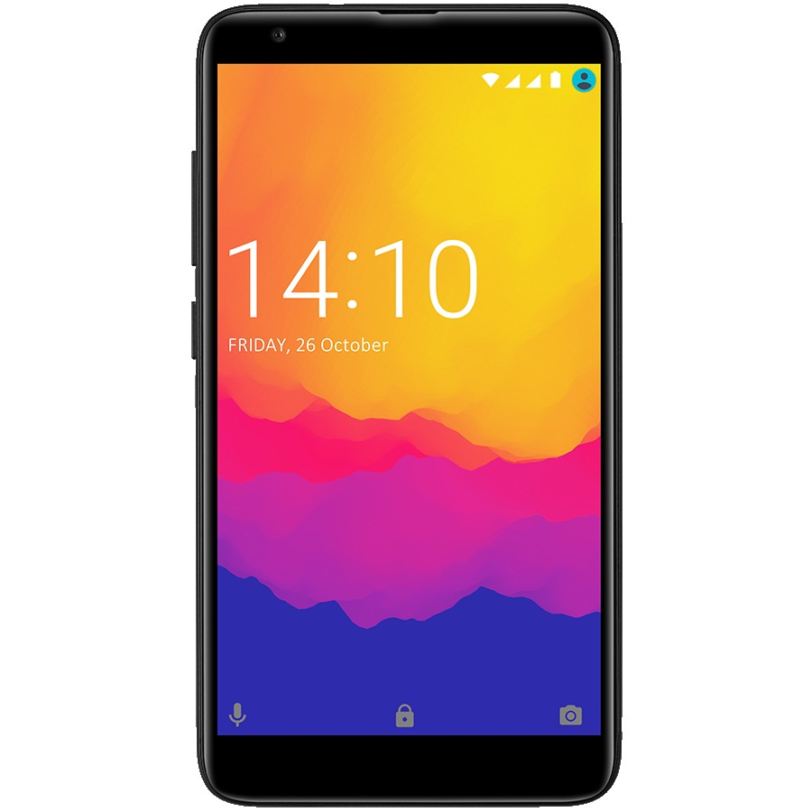 Prestigio,MUZE H5 LTE,PSP5523DUO,Dual SIM,5.2'', HD(1280*720),IPS, 2.5D,Android 8.1 Oreo,Quad-Core 1.3GHz, 2GB RAM+16Gb eMMC, 5.0MP front+13.0MP AF + 0.3MP dual rear camera with flash light, 2500 mAh battery, FP,Black