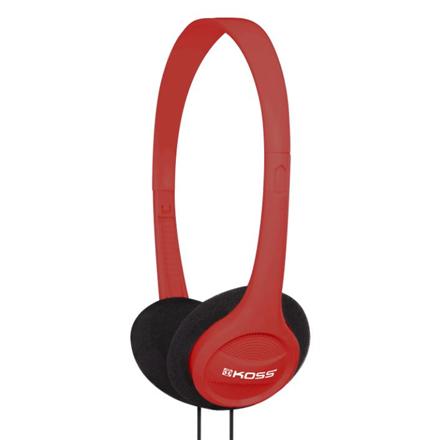 Koss Headphones KPH7r Headband/On-Ear, 3.5mm (1/8 inch), Red,