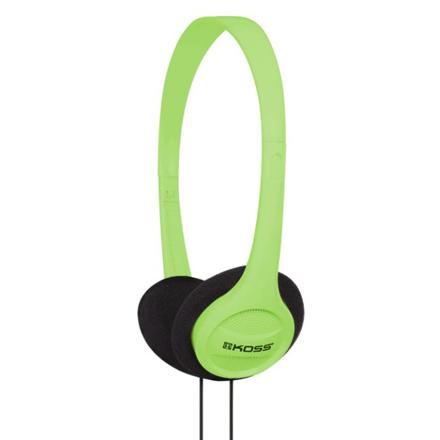 Koss Headphones KPH7g Headband/On-Ear, 3.5mm (1/8 inch), Green,