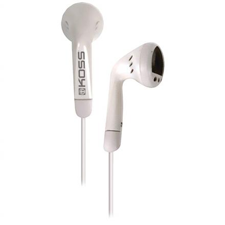 Koss Headphones KE5w In-ear, 3.5mm (1/8 inch), White,