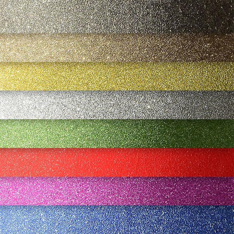 Iseliimuv dekoratiivpaber Glitter A4, 150g/m2, 10 lehte, assortii