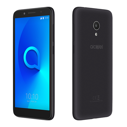 "Alcatel 1X 5059D (Black+Dark Gray) Dual SIM 5,3"" FWVGA/1.3GHz/960x480 /16GB ROM /2GB RAM/ microSD up to 32GB/ 3MP/3MPx/2460mAh/2G"