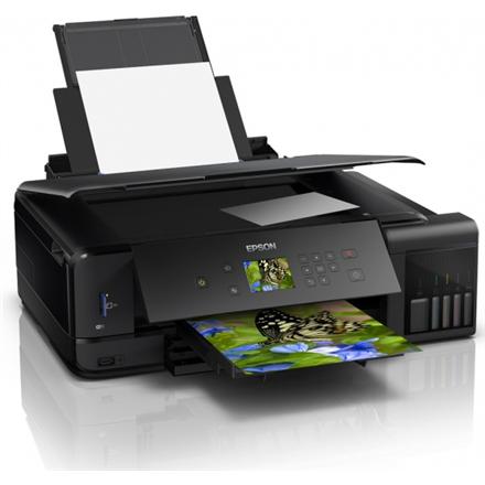 Epson A3 photos and documents printer L7180 Colour, Epson Micro Piezo™ print head, A3, Wi-Fi, Black