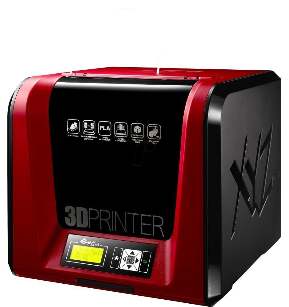 XYZprinting da Vinci Jr. 1.0 Pro 3D-printer FFF (Fused Filament Fabrication) tehnoloogia