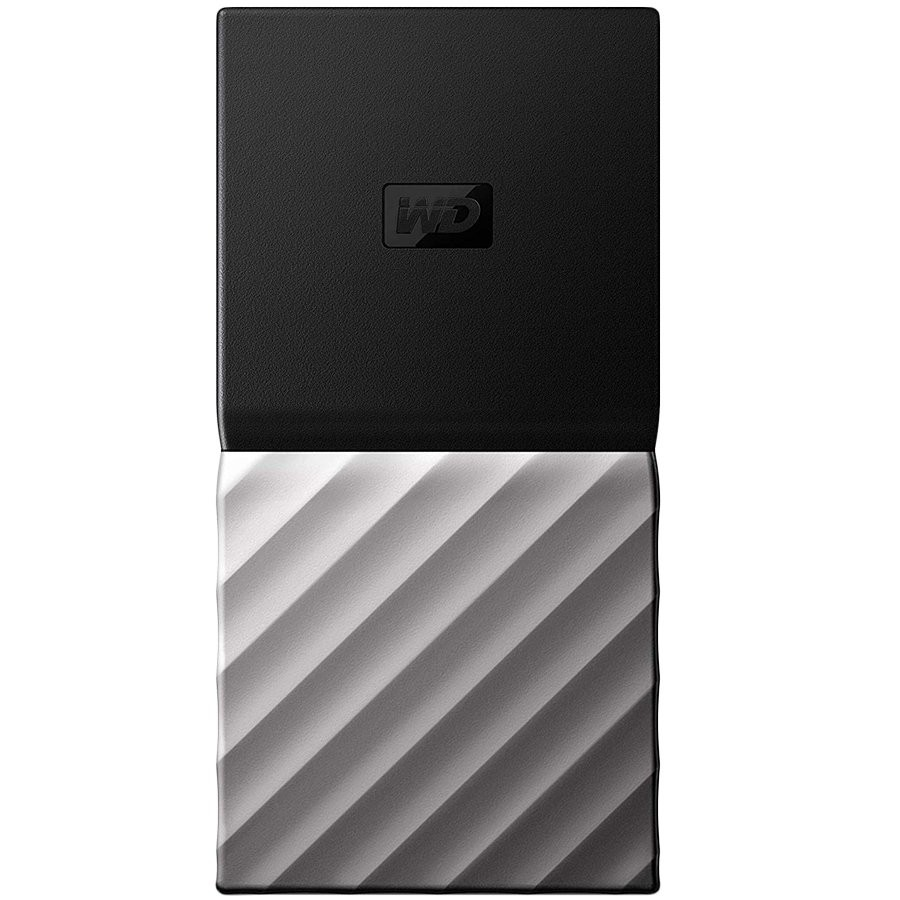 WD My Passport 256GB External SSD, USB 3.1 Gen2, Read/Write: 540 / 540 MB/s, cable: Type-C to Type-C, USB Type-C to Type-A adaptor