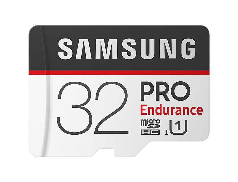 Samsung PRO Endurance 32 GB, Micro SDHC, Flash memory class 10, Adapter