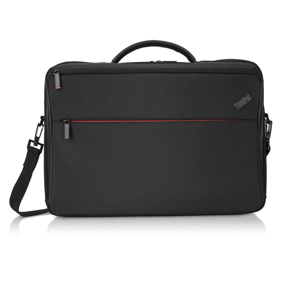 """Lenovo ThinkPad Professional Slim Top-load Fits up to size 15.6 """", Black, Messenger - Briefcase"""