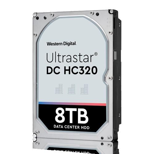Western Digital Ultrastar DC HDD Server 7K8 (3.5'', 8TB, 256MB, 7200 RPM, SATA 6Gb/s, 512E SE), SKU: 0B36404