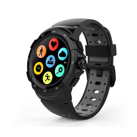 MyKronoz Zesport 2 460 mAh, Smartwatch, Touchscreen, Bluetooth, Heart rate monitor, Black/Grey, GPS (satellite),