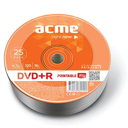 Acme 120 min / 4,7 GB GB, DVD+R