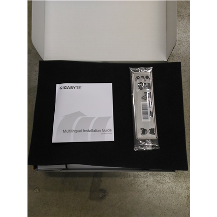 SALE OUT. GIGABYTE GGA-AX370M-DS3H Socket AM4/X370/DDR4/S-ATA/ATX Motherboard - Black Gigabyte REFURBISHED WITHOUT ORIGINAL PACKAGING AND ACCESSORIES BACKPANEL INCLUDED