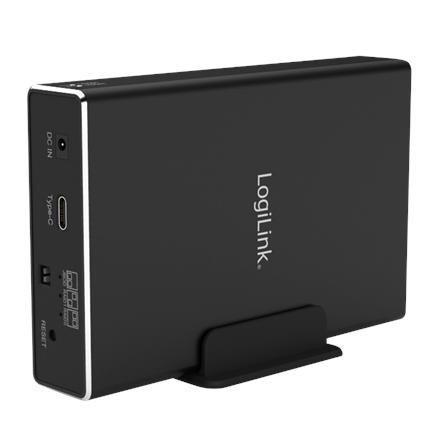 """LOGILINK UA0293 2,5"""" Extern. Encl. USB 3.1 GEN2, RAID 2-bay"""