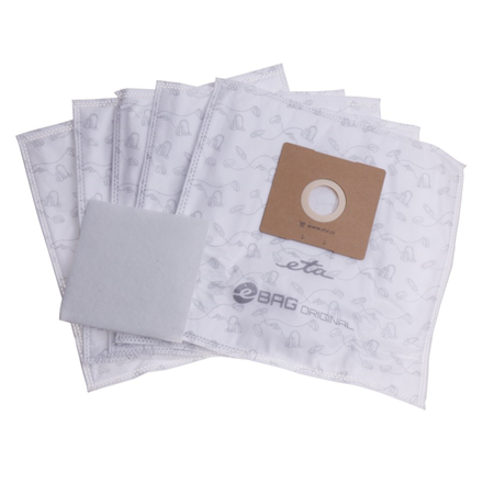 ETA Vacuum cleaner bags Original ETA960068000 Accessory Set, 5 + microfilter 155x145 mm pc(s), Suitable for all ETA, Gallet bagged vacuum cleaners and others (the list attached)