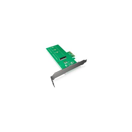 Icy Box IB-PCI208 PCIe-Card, M.2 PCIe SSD to PCIe 3.0 x4 Host