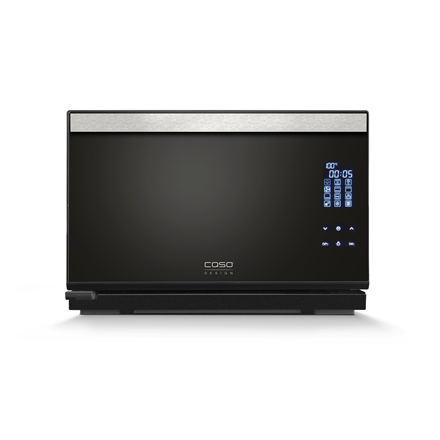 Caso Steam Chef steam oven 03066 25 L, Electric, Black, 2100 W